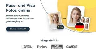 Revolution für biometrisches Passbild